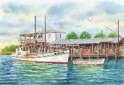 """Mary Ann 11"" Jesse Haywood Seafood Dock"